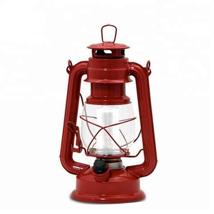 Dimmer control switch vintage style 12 Led hurricane lantern with metal hanging ring