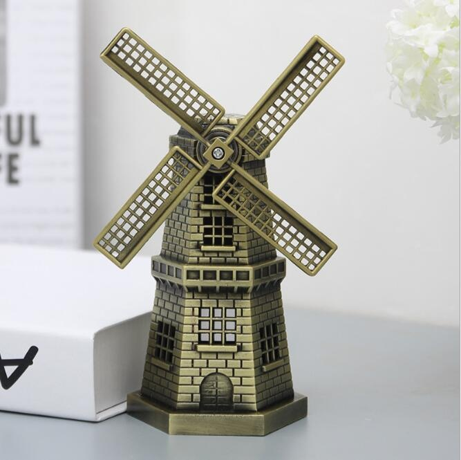 The Netherlands windwill souvenir gift Holland windmill model table decor