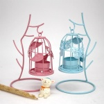 Metal Birdcage butterfly hanging lanterns