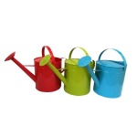 Watering can with Anti-rust Powder Coating Treatment 1 Letre Multi-color