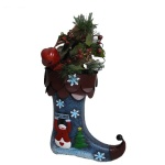 Christmas Decorations Sock Gift Holder Metal Hanging Sock