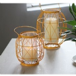 unique wrought iron candle lanterns
