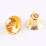 fashion large metal bell/jingel bell for christmas/hot sale colored jingle bel