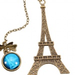 High quality Eiffel tower souvenir used building booking mark