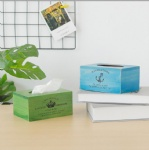 simple wooden Tissue box simple style/tissue paper holder