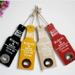 retro beer bottle opener wooden hanging wall decoration