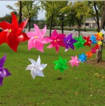 Garden Outdoor Plastic string Windmill Toy
