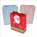 Christmas packing reticule bags with colored printing for gifts bags