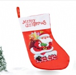 Santa Claus socks Christmas tree Decoration ornaments Christmas socks