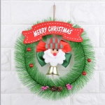 NEW Christmas wall hanging decoration with santa snowman bear garlands